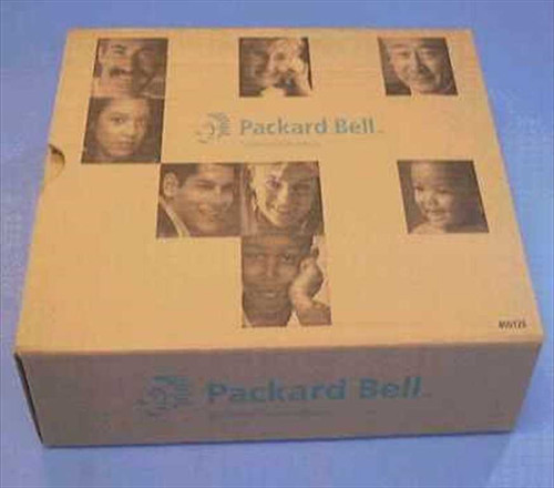 Packard Bell 168089  Speakers Black w/PS (new in box)