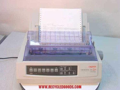 Okidata ML 320 Turbo  Dot Matrix Printer GE7000A - Parallel Port