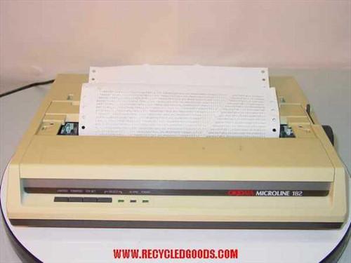 Okidata ML 182  ML182 Dot Matrix Printer GE5250B