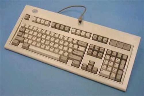 IBM 82G2383  IBM Model M Clicky PS/2 Keyboard 12 F Keys