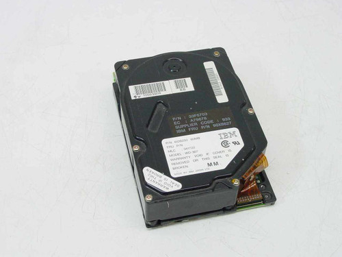 "IBM 6128250  60MB MCA 3.5"" Hard Drive - WD-387T"