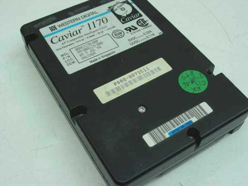 Western Digital WDAC1170  170MB 3.5 IDE Hard Drive