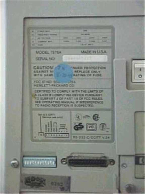 HP 7576A  Draftpro EXL A-E size 8-Pen Plotter