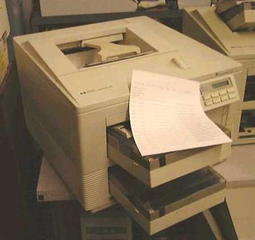HP 33491A  LaserJet IIIsi 3si Printer
