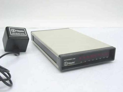 Hayes 31GEUS / 360V1  External Gov't 2400 modem