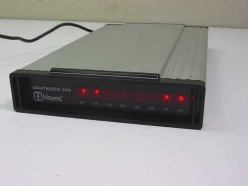Hayes 231AA  External SmartModem 2400