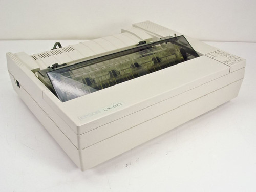 Epson LX-810  Dot Matrix Printer P80SA - Missing Knob and paper guide