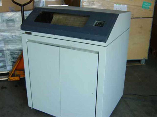 Data Products B600-102  600 LPM Line Printer Band Printer - Twinax