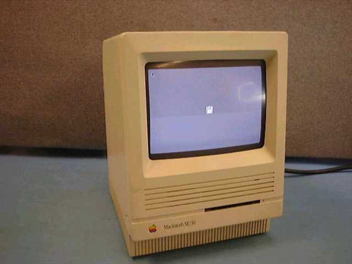 Apple M5119  Macintosh SE 30 Vintage Desktop Computer