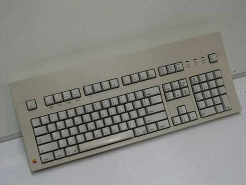 Apple M0115  Apple Extended Keyboard - Yellowed Top Plastic