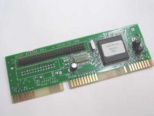 Adaptec AVA-1502I  SCSI Card 16-bit 50 Pin