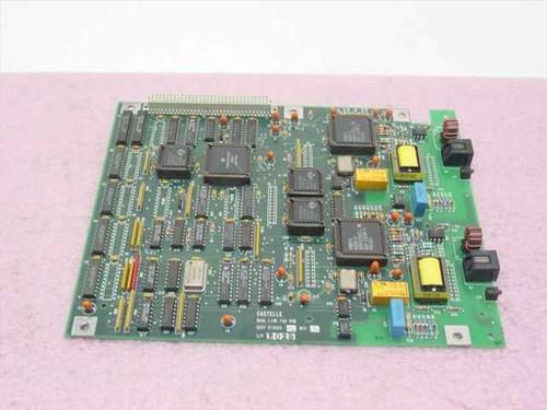 Castelle Dual Line Fax PCB 1-215950-4 810023 03 Rev C