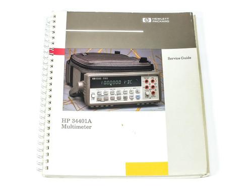 HP 34401A Multimeter Service Guide 34401-90012