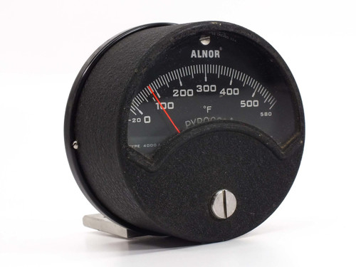 Alnor Instrument Type 4000A  -20-580 Degrees Fahrenheit Pyrocon Gauge