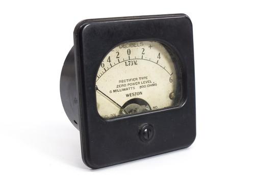 Weston Electrical Model 301  -? to 6 Rectifier Type Gauge