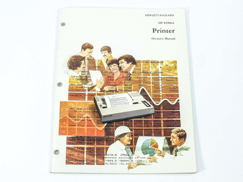 HP 82906A  Printer Owner's Manual