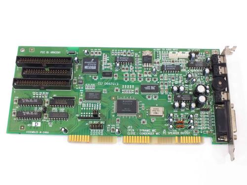 Sound Card E152990 (S) ISA-16 Bit with Panasonic / Sony / Mitsumi CDROM Ports
