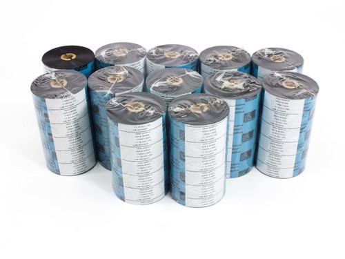 Zebra 110mmx350M  BLACK Thermal Transfer Printer Ribbon I11 CSO -CASE of 12