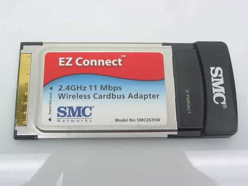 SMC Networks EZ Connect Wireless Cardbus Adapter (SMC2635W)