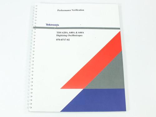 Tektronix 620A/640A/644A  Digitizing Oscilloscopes Performance Verification