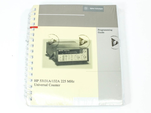HP 53131A/132A  225 MHz Universal Counter Programming Guide
