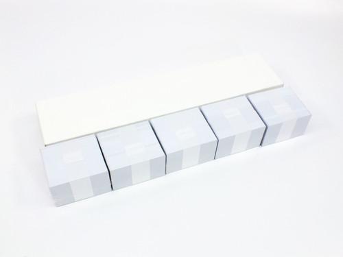 Zebra CR80-030  500 Count White PVC Plastic Photo ID Cards