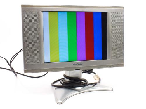 "Viewsonic VS1079-1M13"" 480P EDTV LCD Television Computer Monitor N1300"