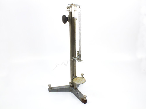 "Eberbach 40 cm  Adjustable Stand with Vertical Ruler 3-1/8"" Platform"
