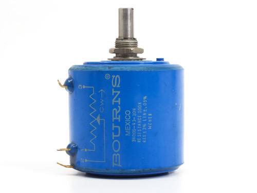 Bourns 3400S-41-104 Series 3400 Precision Potentiometer 1-100 K OHM Resistance