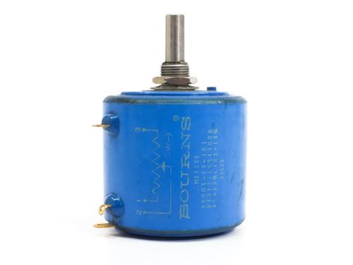Bourns Series 3400Precision Potentiometer 0-101 OHM Resistance 3400S-74-101