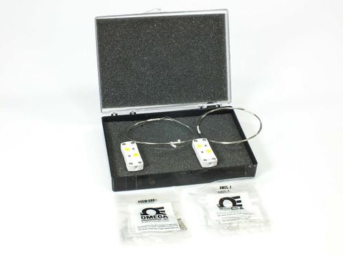 "Omega SCASS-020U-60-SHX  Pair of Temp Probes w/ Ceramic Thermocouple 60"" Sheath"