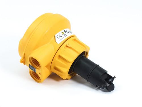 """George Fischer 3-2537-6C-P0  Paddlewheel Flowmeter 0.5-4"""" Pipe 4-20mA 325376CP0"""