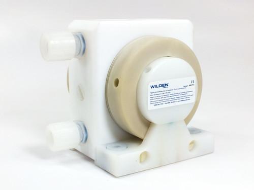 Wilden Unitec Chemical Transfer AODD Pump Machined Plastic Air Operated Pump