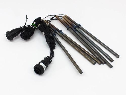 """Watlow G11E-15179 FIREROD Lot of 7 Cartridge Heaters 3/8"""" x 11.25"""" L 240V 180W"""