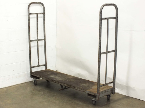 """Industrial 64"""" x 16"""" x 57""""  Utility Delivery Cart on Wheels"""