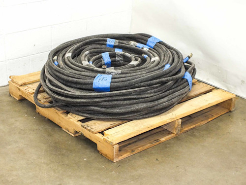LOT OF Various  Lengths OF MCM 350 Heavy Gauge Electrical Cables