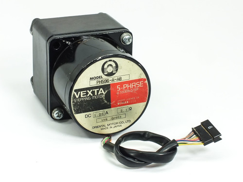Oriental Motor PH596-A-A8  VESTA Stepping Motor 1.25VDC 2.1A D1754-152 Gear Head