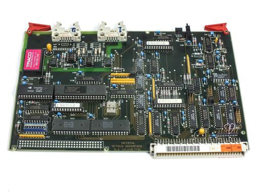 Netstal Sycap  SLA (Bitbus) Card / Board 100.240.7780 DiskJet Injection Molder 6