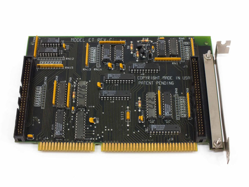 Model ET Dual-Channel  SCSI Expansion Card 16-Bit ISA REV C1