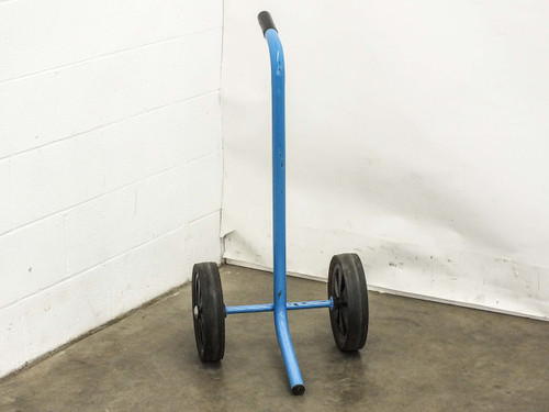 """Blue 18"""" x 18"""" x 37""""  Rolling Cart Dolly Attachment"""