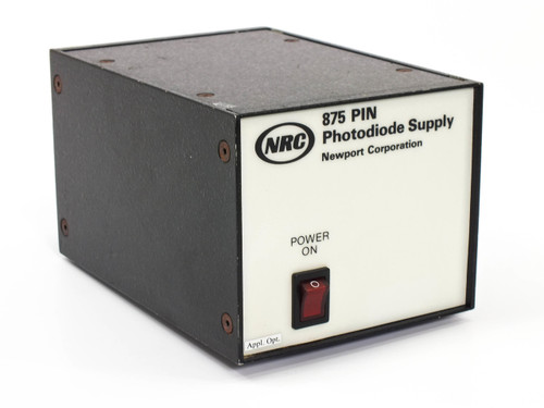 NRC / Newport Model 875  PIN Photodiode Supply for Laser and Optical Measurment