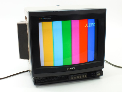"Sony KV-1380R  13"" Trinitron Color TV with Built in Stereo Speakers"