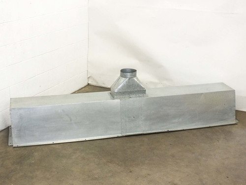 "Aluminum 90"" x 18.5"" x 22.5""  Clean Room Air Duct Housing"