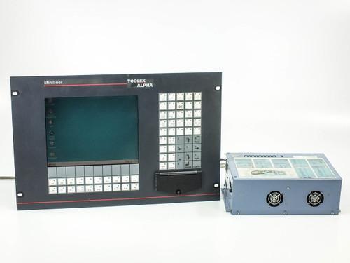 """B&R IPC5000 Provit 5000 Industrial PC with Toolex Alpha Miniliner 10.4"""" Display"""