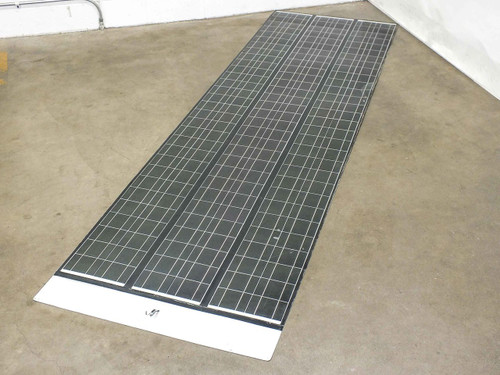 SoloPower SFX3 10 Foot 3-Bank Flexible Thin CIGS Solar Panel BIPV Solder Point