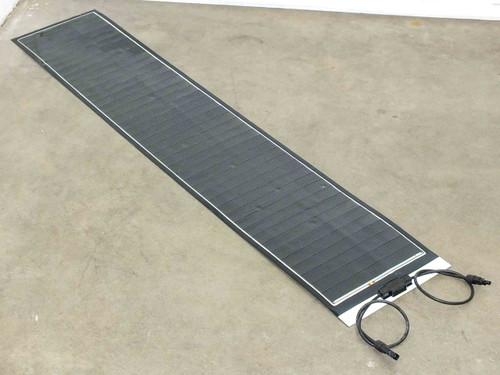 "SoloPower 5' (60.5"") Flexible Thin Solopanel CIGS Solar Panel BIPV MC4"