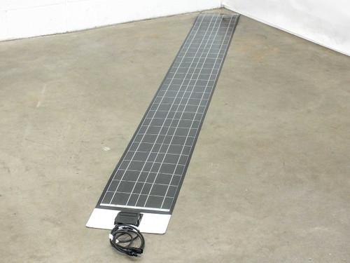 "SoloPower 10' (120"") Flexible Thin Solopanel CIGS Solar Panel BIPV MC4"