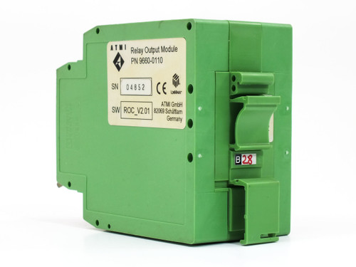 ATMI Relay Output Module DIN-Rail Mounting ROC V2.00 / V2.01 9660-0110