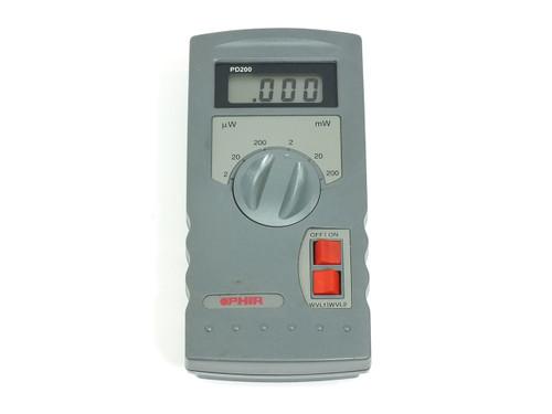 OPHIR PD200  Digital Laser Power Meter 200mW Hand-Held PD-200 no sensor