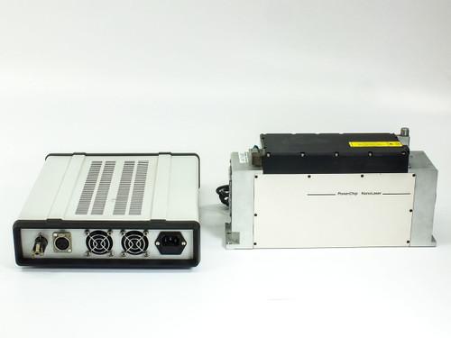 JDS Uniphase PNU-001025-100  PowerChip NanoLaser with Power Supply 200mW 1ns